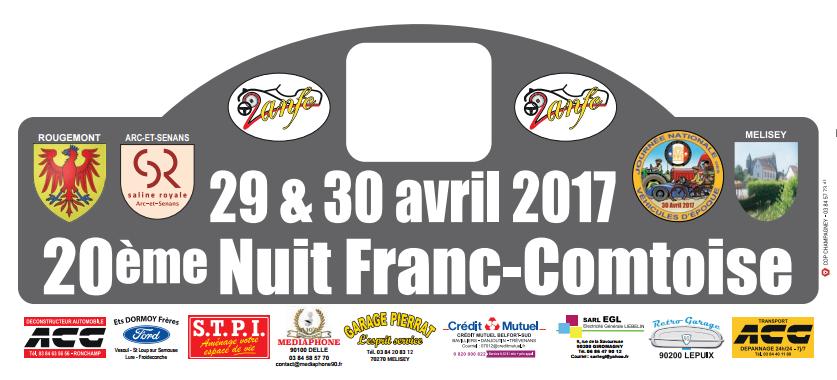 La 20ème édition de la Nuit Franc-Comtoise – 29 et 30 avril 2017 – Rougemont (Doubs)