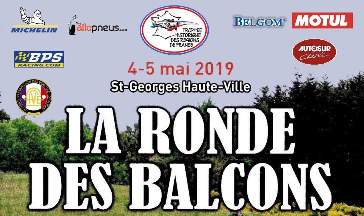 7ème Ronde des Balcons – 4 et 5 mai 2019 – Saint Georges Haute-Ville, Loire