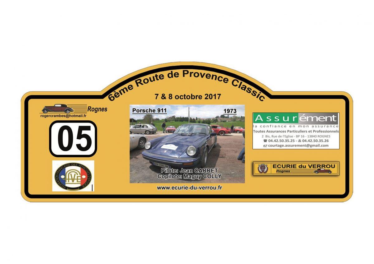 La 6ème Route de Provence Classic – 7 et 8 octobre 2017 – Villes sur Auzon, Vaucluse