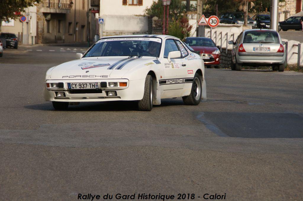 16ème Rallye du Gard Historique – 6 et 7 octobre 2018 – Bessèges, Gard
