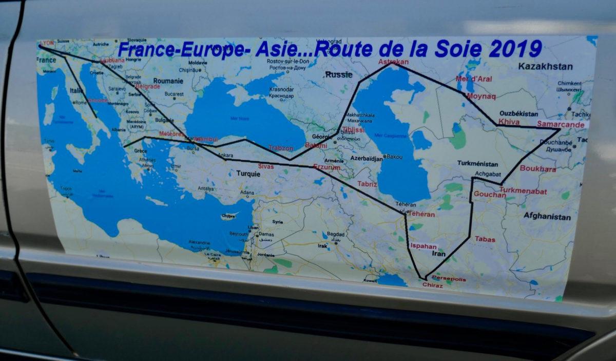 Raid Europe – Asie – Route de la Soie 2019